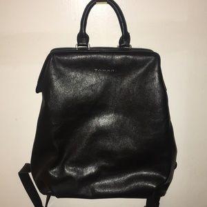 Tahari Black Backpack